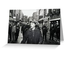 Remonstrator (Soho, London) Greeting Card