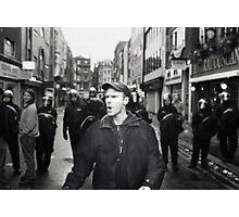 Remonstrator (Soho, London) Photographic Print