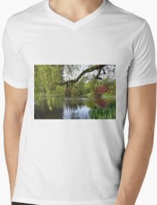 Beautiful Spring Garden Mens V-Neck T-Shirt