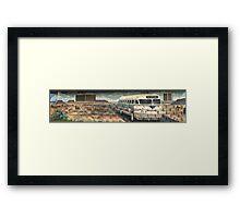 Tucumcari Bus Framed Print