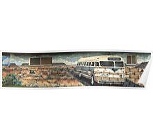 Tucumcari Bus Poster
