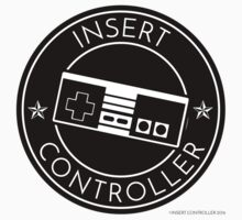 Insert Controller Badge Kids Tee
