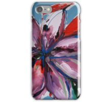 Purple Lily Painting iPhone Case/Skin
