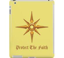 Protect The Faith iPad Case/Skin