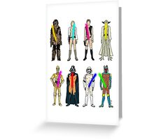 Naughty Lightsabers Greeting Card