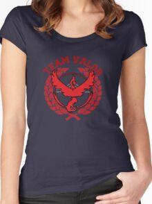 Team Valor - Pokemon Go! Women's Fitted Scoop T-Shirt