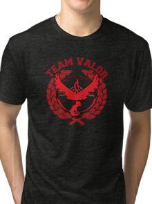 Team Valor - Pokemon Go! Tri-blend T-Shirt