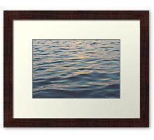 Sunset Bay Framed Print
