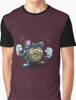 Punch-Drunk Poliwhirl Graphic T-Shirt