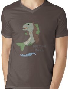 Salmon Dean Mens V-Neck T-Shirt