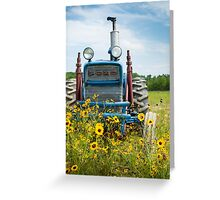 The Ol'e Tractor Greeting Card