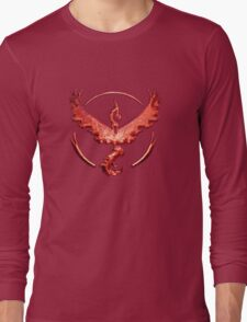 Team Valor Metallic Emblem Long Sleeve T-Shirt
