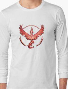 Team Valor Metallic Emblem Long Sleeve T-Shirt