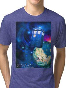 Whovians Best Facebook Group Art Dedication (07/2016) Tri-blend T-Shirt