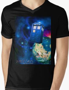 Whovians Best Facebook Group Art Dedication (07/2016) Mens V-Neck T-Shirt