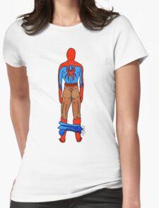 Spider Butt (Dark) Womens Fitted T-Shirt