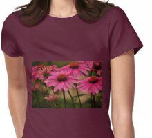 PowWow Wild Berry Coneflowers Womens Fitted T-Shirt