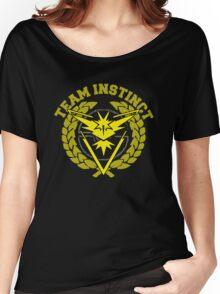 Team Instinct - Pokemon Go! Women's Relaxed Fit T-Shirt