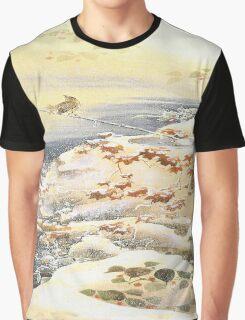 Falling Snow Graphic T-Shirt