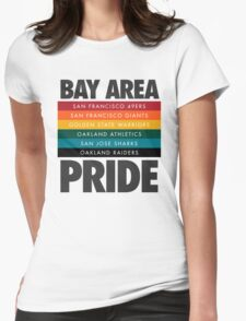 Bay Area Pride Womens Fitted T-Shirt