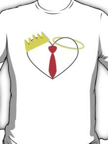 Three Flavours Cornetto Heart T-Shirt