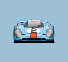 "Porsche 917 No.2 ""Gulf Livery"" Unisex T-Shirt"