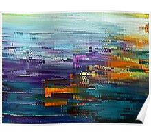 colorful Contemporary by rafi talby Poster