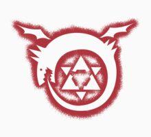 fullmetal alchemist brotherhood homunculus Graffiti Kids Clothes