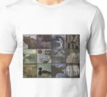 Great Outdoors Wildlife Patchwork Unisex T-Shirt