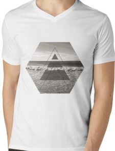 Ocean View Mens V-Neck T-Shirt