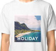 Beach holiday landscape Classic T-Shirt