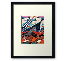 SOARING ON WINGS GRAPHIC Framed Print