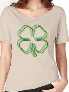 shamrock blur Women's Relaxed Fit T-Shirt