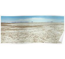Spiral Jetty Location Dry Landscape Poster
