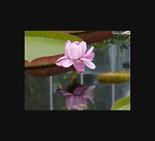 Large Pink Lotus with Water Reflection Unisex T-Shirt