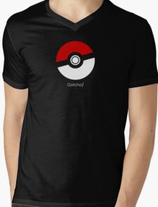 Pokemon Go! Gotcha gear Mens V-Neck T-Shirt