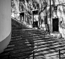 Steps and Shadows by Lucinda Walter