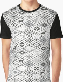 Navajo pattern Graphic T-Shirt