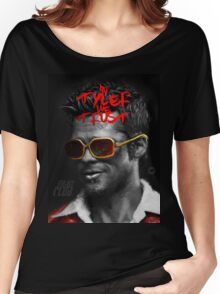 Tyler Durden - Illustration Women's Relaxed Fit T-Shirt