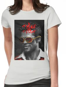 Tyler Durden - Illustration Womens Fitted T-Shirt