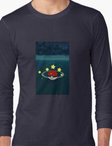 Pokemon Go Poke Ball Stars - Night time Capture Long Sleeve T-Shirt
