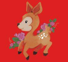 Little Deer, Fleet of Foot One Piece - Short Sleeve
