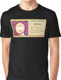 South Park Jesus Graphic T-Shirt