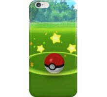 Pokemon Go Poke Ball Stars- Night time Capture iPhone Case/Skin