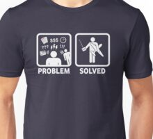 RC Radio Controlled Planes Problem Solved Unisex T-Shirt