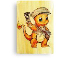 The Daily Pokemon Canvas Print