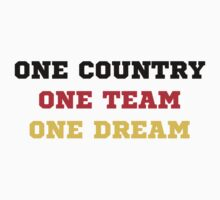 One Country One Team One Dream(Germany) Kids Clothes