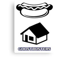 Ghostbusters - Kevin's Alternative Logo Canvas Print