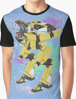Gortys x Loader Bot (Smashcard) - Blue Graphic T-Shirt