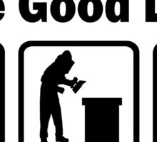 Beekeeping Good Life Sticker